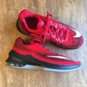 Air Max Infuriate Low Basketball Red